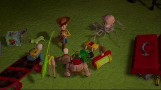Green carpet toy story
