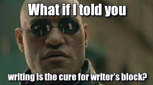 Non-Writer/Writers Block