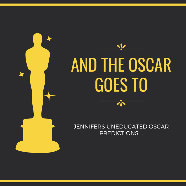 Black Yellow Simple Oscar Invitation